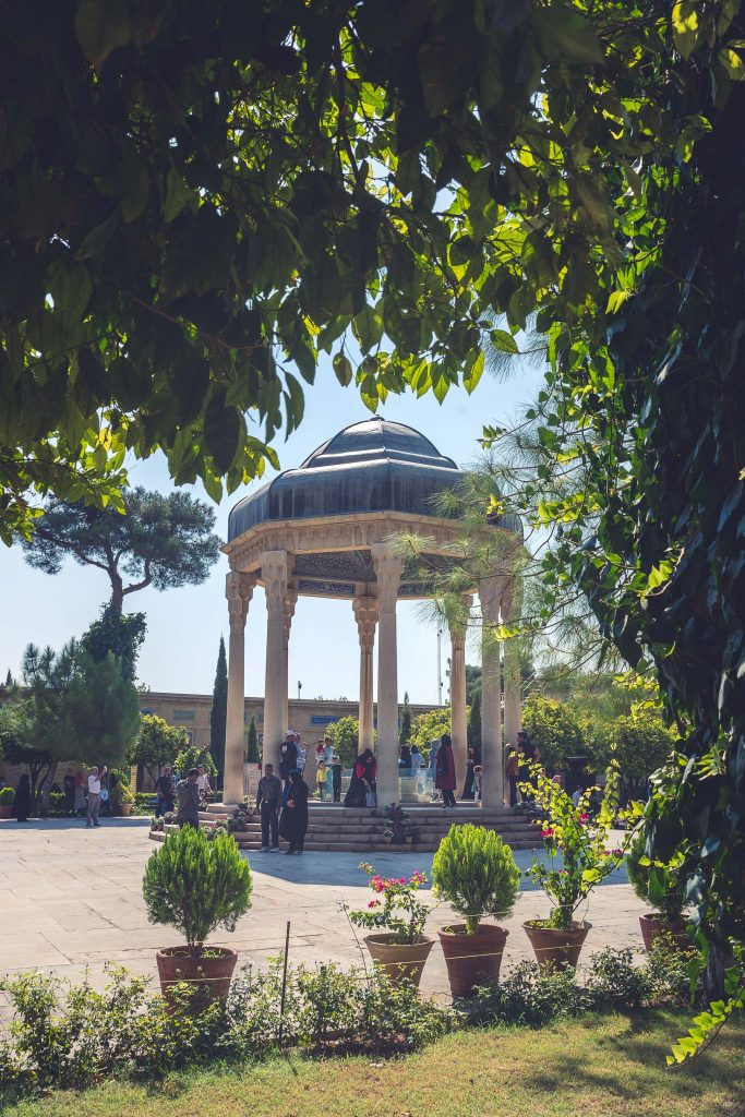 Tomb of Hafez in Shiraz, Iran.