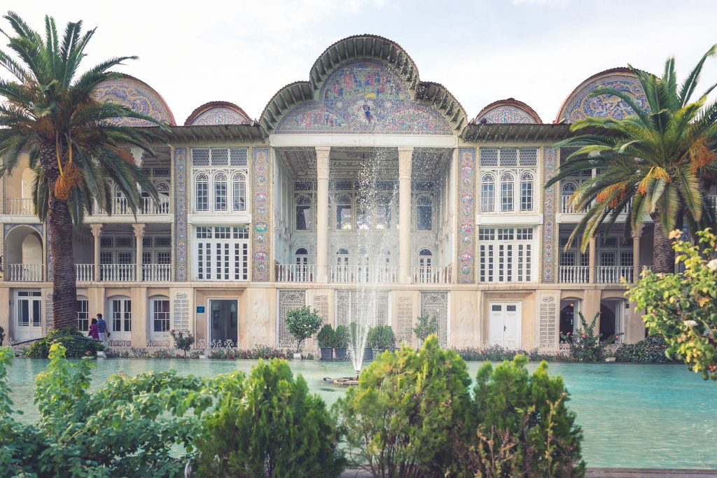 Eram Garden in Shiraz, Iran.